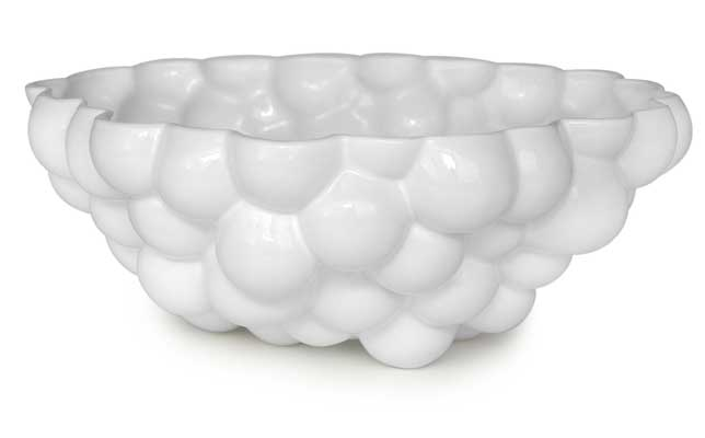 Bubbly bowl